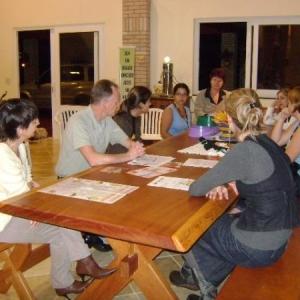 O objetivo da visita era analisar as iniciativas, propostas e documentações gerais sobre a ONG.